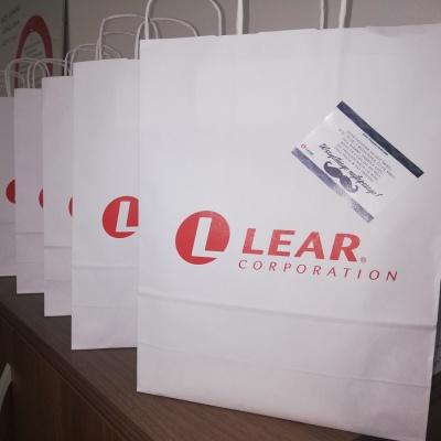 Torebki papierowe z logo Lear