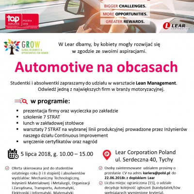 Automotive na obcasach